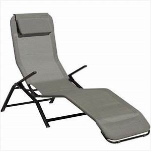 Fauteuil Relax Jardin Gifi : transat chaise longue nouveau transat chaise longue de jardin en polyrotin anthracite coussin ~ Melissatoandfro.com Idées de Décoration