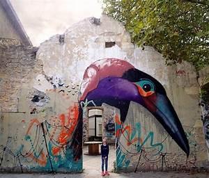 Street Art Bordeaux : 17 best ideas about bird street art on pinterest banksy ~ Farleysfitness.com Idées de Décoration