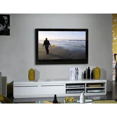 meuble blanc laque tv meuble tv bas laque blanc