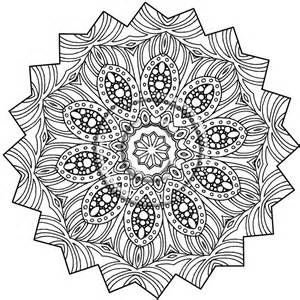 Zendoodle Printable Coloring Page