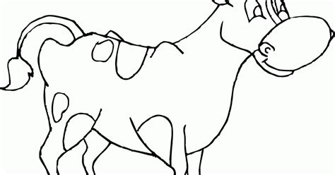 mewarnai gambar sapi anak paud tk sd boleh kok