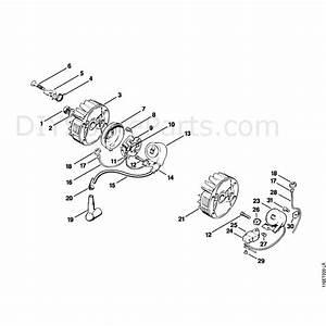 Stihl 015 Chainsaw  015l  Parts Diagram  Ignition