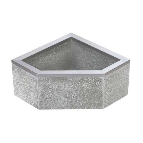 tsbc6011 32 quot x 32 quot stockton terrazzo neo mop basin mop sink fiat products fiat products