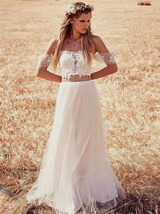 25 amazing bohemian wedding dress ideas for Boho wedding dress ideas