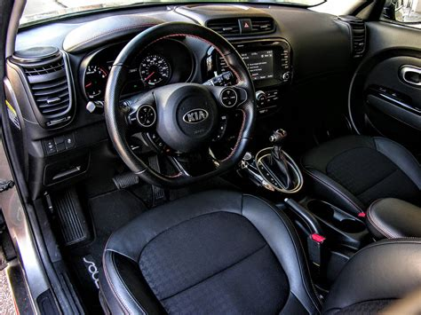kia soul interior 2018 kia soul turbo review tiny tremors and animalistic
