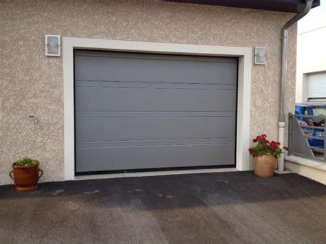porte de garage sectionnelle motoris 233 e hormann