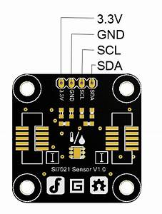 Si7021 Temperature And Humidity Sensor Sku Toy0054
