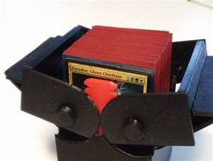 Improved Deck Box With Gears For Magic The Gathering Edh