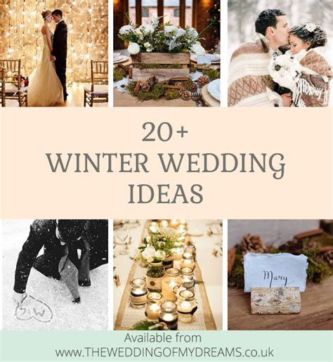 20 winter wedding ideas you just need to steal