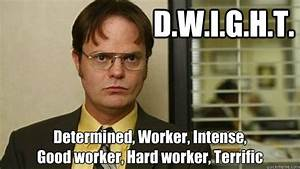 Careereality | ... Good Dwight Quotes