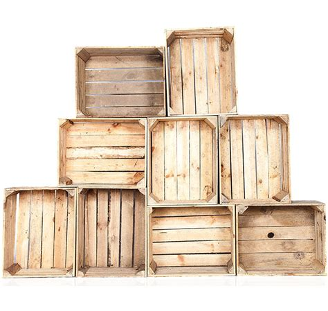 caisse en bois new caisson vintage pour creation de meuble