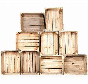 Caisse En Bois : caisse en bois new good caisson vintage pour creation de ~ Nature-et-papiers.com Idées de Décoration