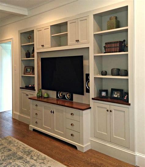 how to make built in cabinets wall units glamorous built in entertainment center plans