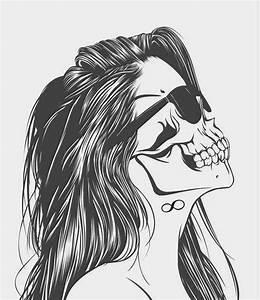 hipster girl drawings tumblr - Google Search | kawaii ...