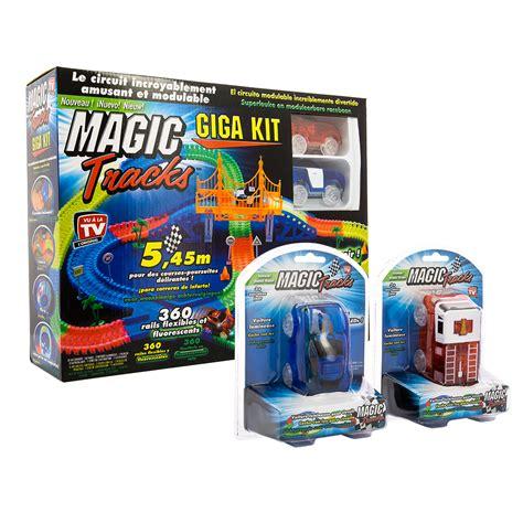 magic tracks giga set 2 voitures circuit de voitures la boutique - Magic Tracks Voiture