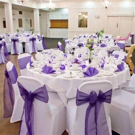Purple And White Decoration For Wedding by Inspiration Gallery For Purple Decor Hitched Co Uk