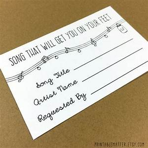 wedding song request card design 1 rustic mason jar With wedding invitation with song request