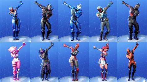 Fortnite 118 Costumes Perform Infinite Dab Dance New Emote