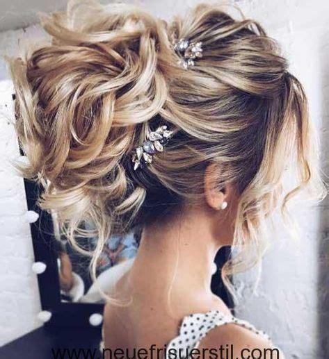 messy bun lange hochzeit frisur hair ideas
