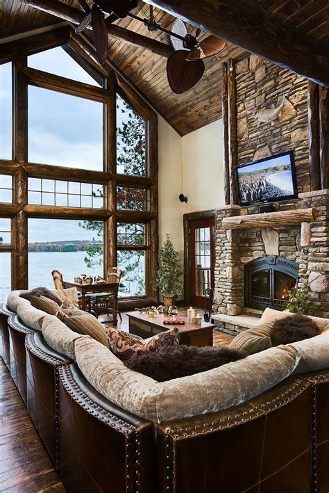 Great Room At The Lake Housei Would Love To Have