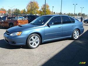 Newport Blue Pearl 2007 Subaru Legacy 25 GT Limited Sedan