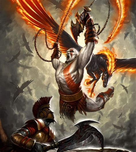 48 Best God Of War Ii Art And Pictures Images On Pinterest