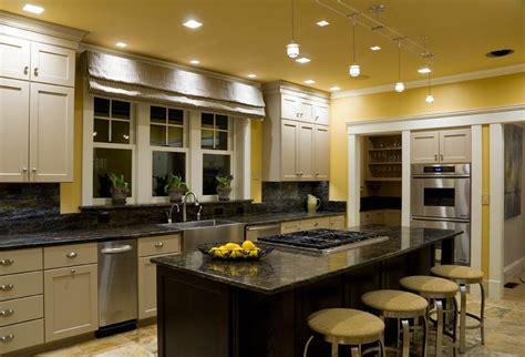 kitchen recessed interior design lighting solutions in