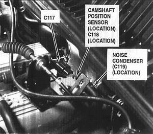 Where Is The Camshaft Sensor Located On A 2000 Kia