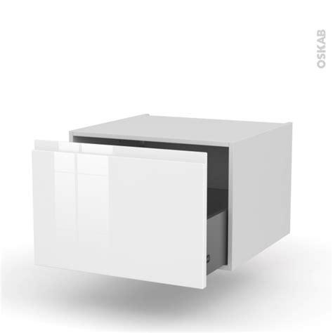 meuble de cuisine suspendu meuble de cuisine bas suspendu ipoma blanc brillant 1