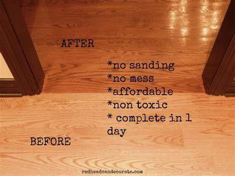 sanding  toxic wood floor refinishing   home
