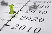 21st Century Timeline Year 2020 Stock Photo - Download ...
