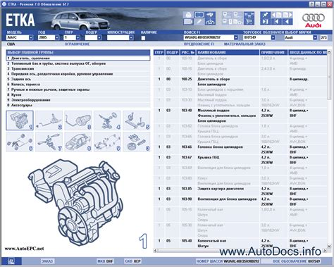 Audi Parts by Audi Vw Skoda Seat Etka 7 2 Spare Parts Catalogue Contains