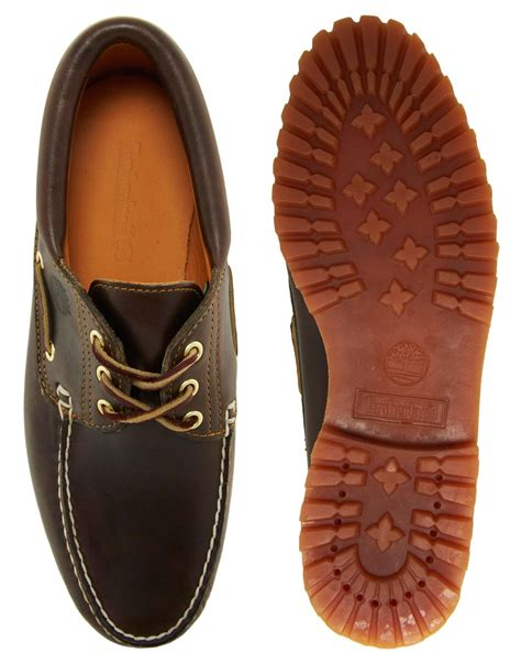 Timberland Classic Lug Boat Shoes In Black by Timberland 3eye Classic Lug Boat Shoes In Black For