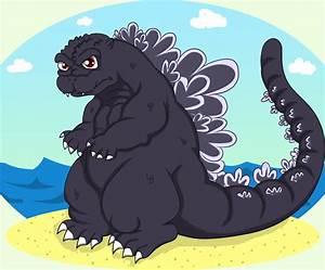Godzilla chibi by Beastwithaddittude on DeviantArt