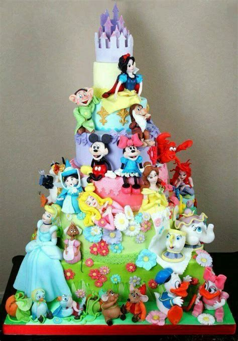 disney princess birthday cake disney world cakes happy birthday Awesome