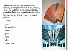 Materials Used In Architecture Design Decoration