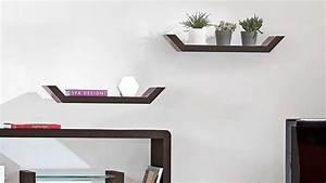 Etagere Murale Salon : decoration salon avec etagere ~ Teatrodelosmanantiales.com Idées de Décoration