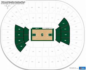 Breslin Center Seating Chart Breslin Center Michigan St Seating Guide