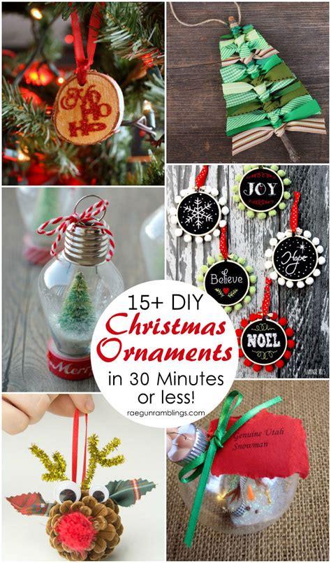15+ Diy Christmas Ornament Tutorials  Rae Gun Ramblings