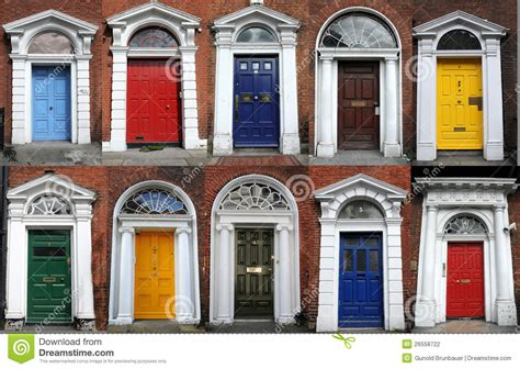 home design exterior app dublin doors stock photography image 26558722