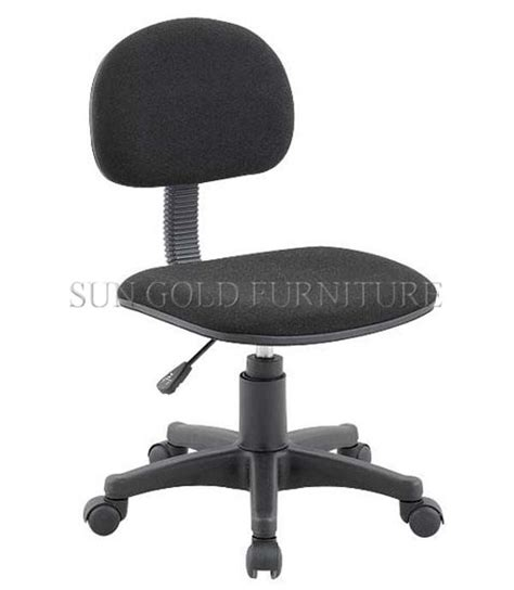 cheap fabric office chair without arm rest student chair