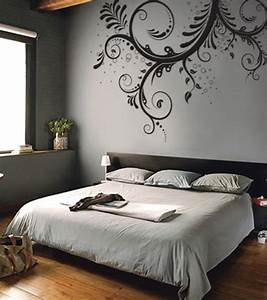 Bedroom ideas wall decal