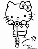 Kitty Coloring Pages Stick Pogo Hello Printable Cute Baby Dinokids Colouring Print Clipart Printables Sanrio Popular Sheets Library sketch template
