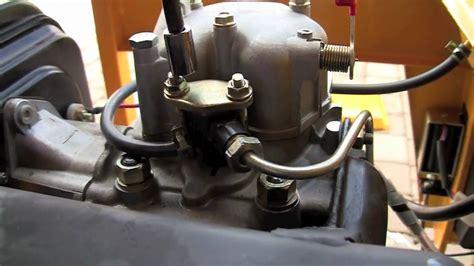 diesel generator fuel injector youtube