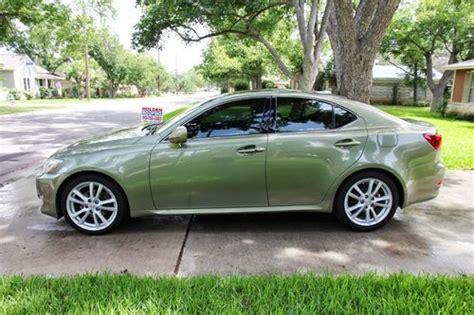 2007 lexus is 250 specs pictures trims colors cars com buy used super clean 2 owner 2007 lexus is250 desert sage