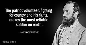 TOP 25 CONFEDER... Stonewall Jackson Brainy Quotes