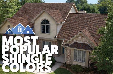 Most Popular Shingle Colors  Stevan Buren Roofing
