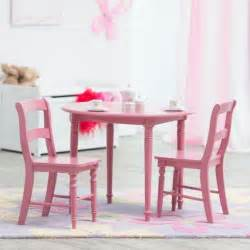 classic playtime pink wood spindle table w 4 chairs