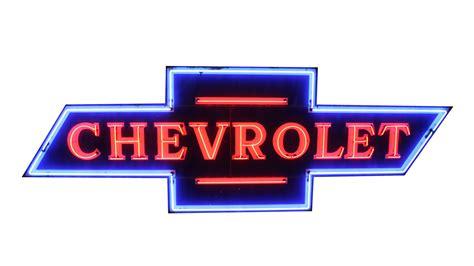 Chevrolet Bowtie Neon Sign Sspn