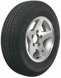 Karrier St175  80r13 Radial Trailer Tire With 13 U0026quot  Aluminum